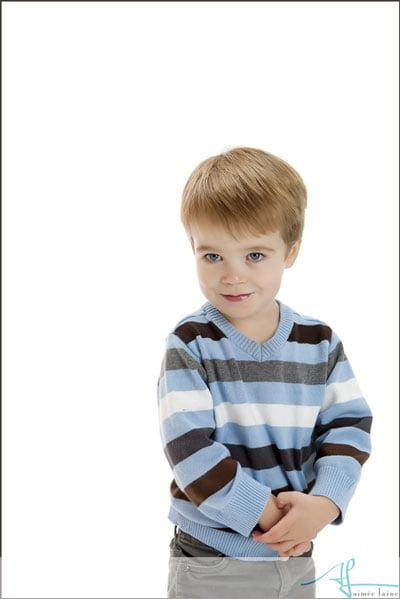 Children's Studio Portrait -- Photography by Aimee