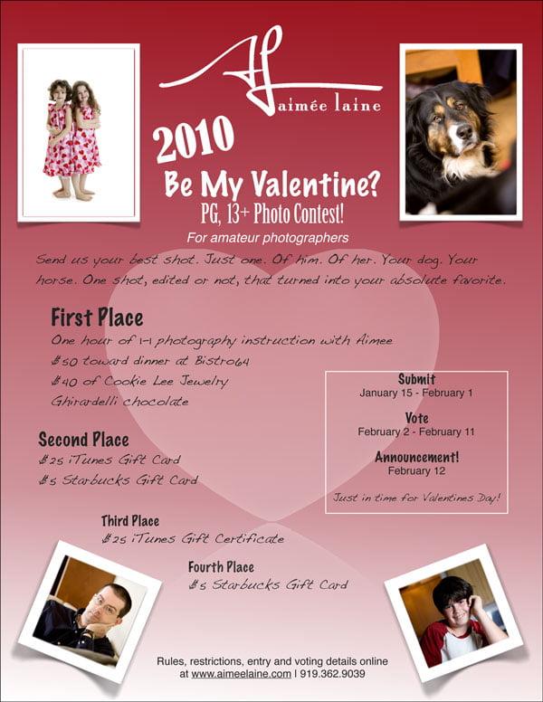2010 Be My Valentine Photo Contest
