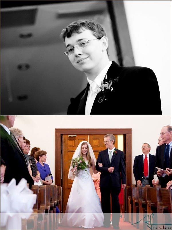Janet & Dakota : Wedding Ceremony Photography by Aimee