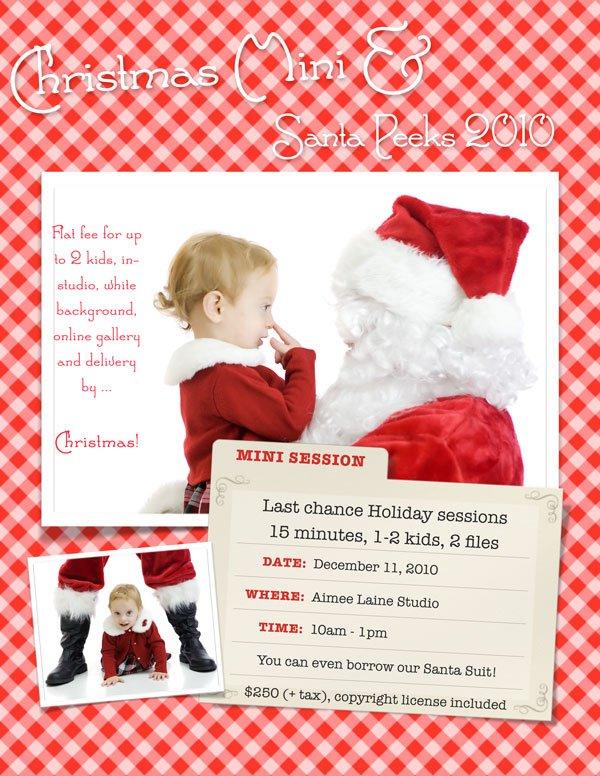 Aimee Laine Christmas Mini 2010