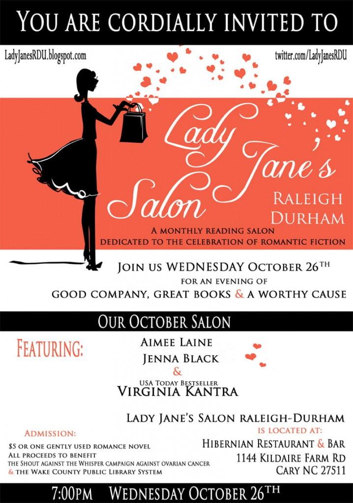 Lady Jane's Salon - October 26th