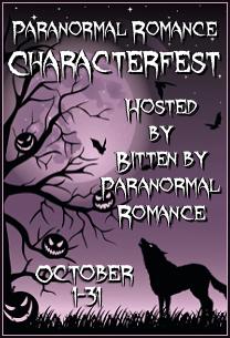 Bitten by Paranormal Romance Characterfest