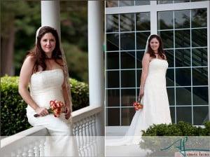 Bridal Portraits by Aimee Laine