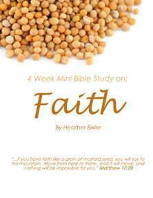 Faith by Heather Bixler