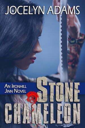 Stone Chameleon by Jocelyn Adams